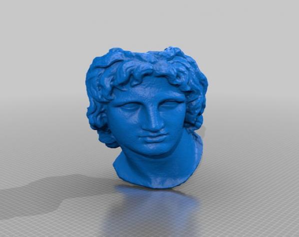 亚历山大大帝 雕像模型 3D模型  图9