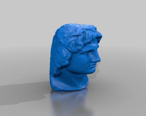 亚历山大大帝 雕像模型 3D模型  图10