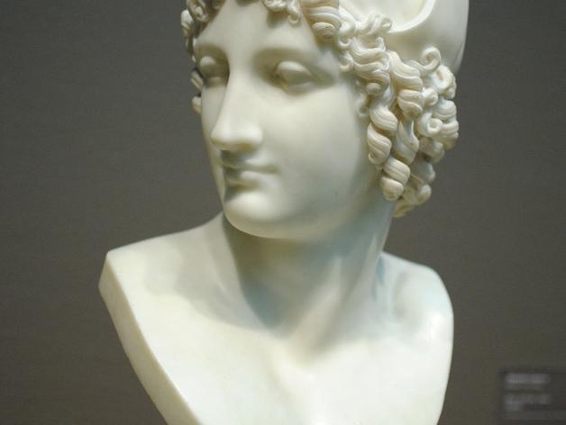 特洛伊王子 Paris半身像 模型 3D模型  图2