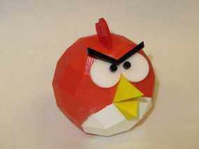 愤怒的小鸟 3D模型