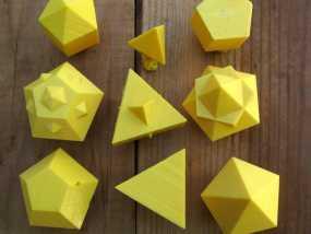 多面体 模型 3D模型