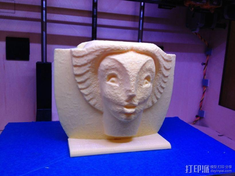 亨利·鲍恩安东尼 喷泉 模型 3D模型  图1