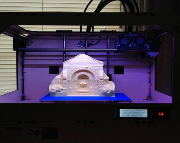 哥特式喷泉  模型 3D模型  图2