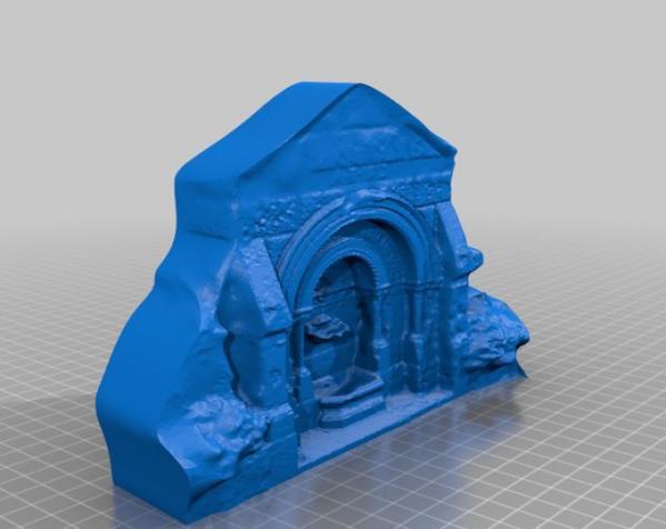 哥特式喷泉  模型 3D模型  图3