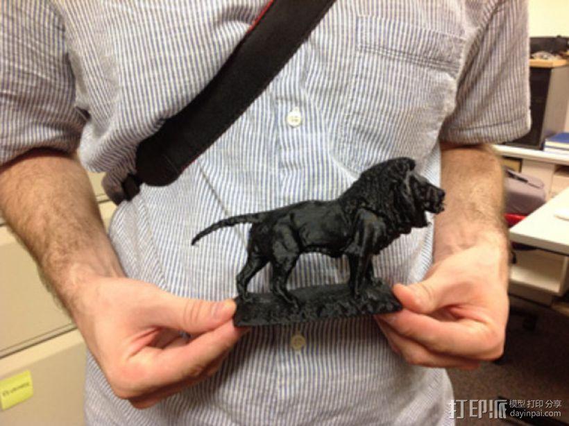 狮子雕像 模型 3D模型  图2