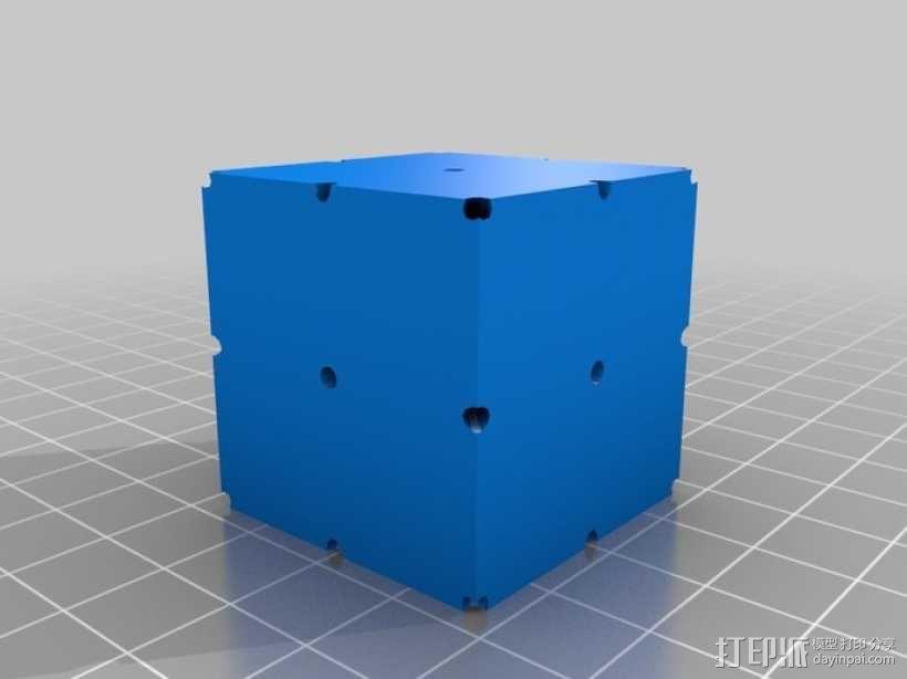 复合多面体 立方体 3D模型  图7