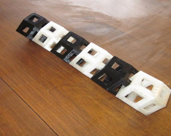 菱形十二面体手链 3D模型  图3