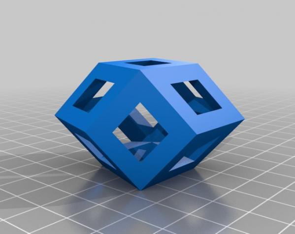 菱形十二面体手链 3D模型  图5