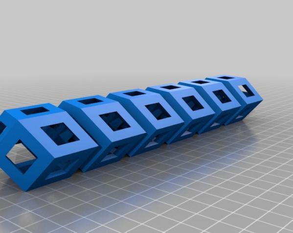 菱形十二面体手链 3D模型  图6