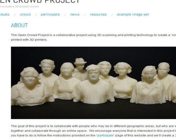 人群 雕像模型 3D模型  图11