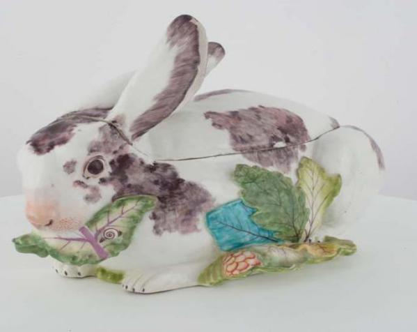 兔子形状大汤碗 3D模型  图3