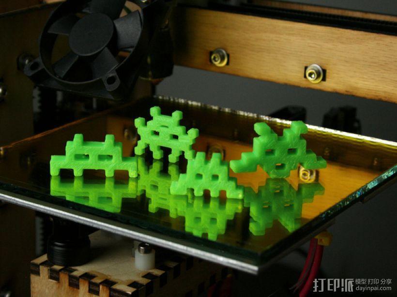 入侵者 模型 3D模型  图2