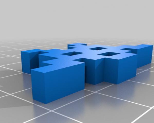 入侵者 模型 3D模型  图1