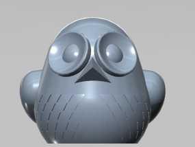 3D 猫头鹰 3D模型