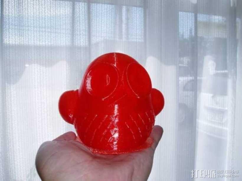 3D 猫头鹰 3D模型  图3