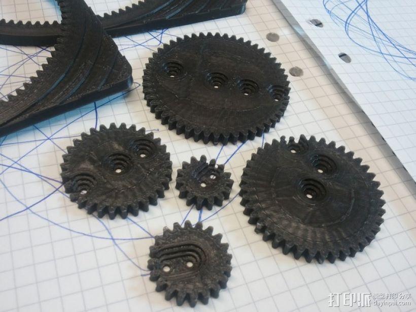 齿轮画图器 3D模型  图2