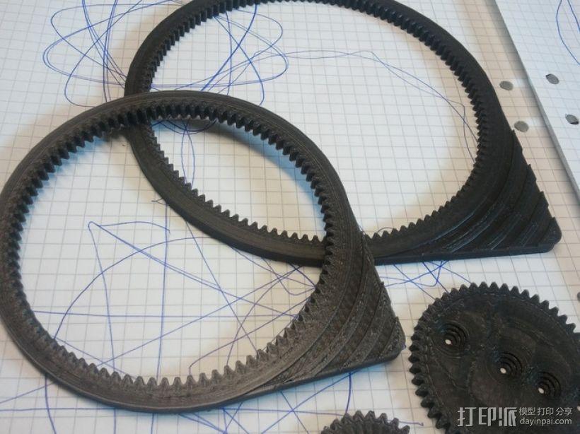 齿轮画图器 3D模型  图3