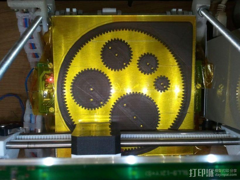 齿轮画图器 3D模型  图4