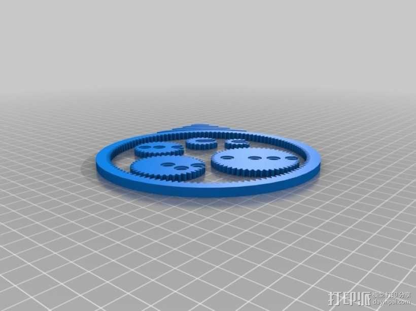 齿轮画图器 3D模型  图5