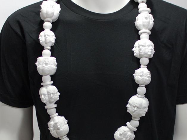 人头项链 3D模型  图6