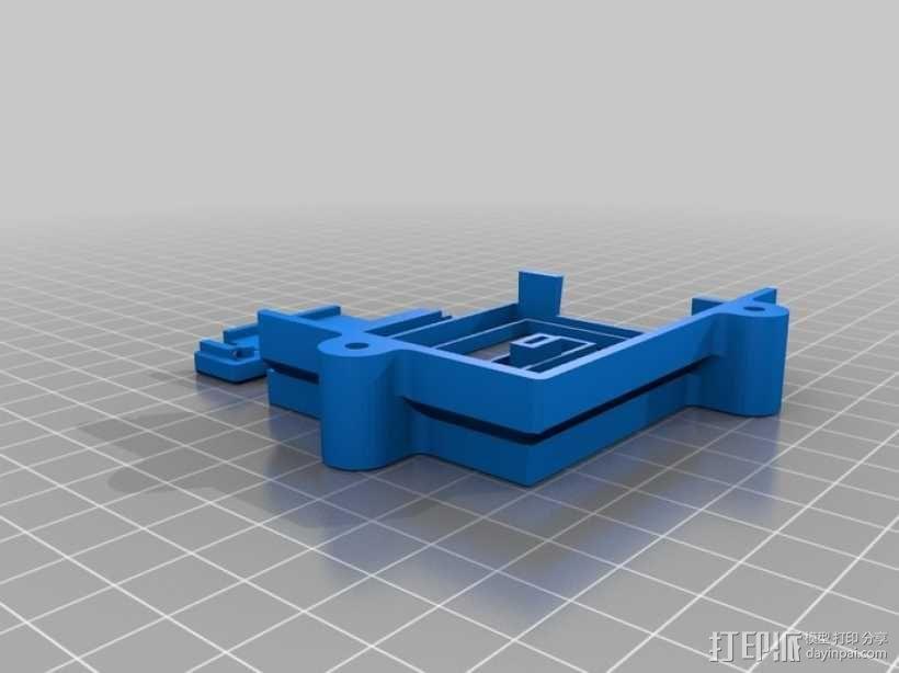 PolargraphSD设备外壳 3D模型  图3