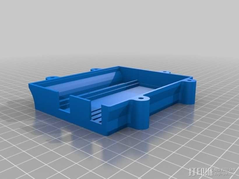 PolargraphSD设备外壳 3D模型  图6