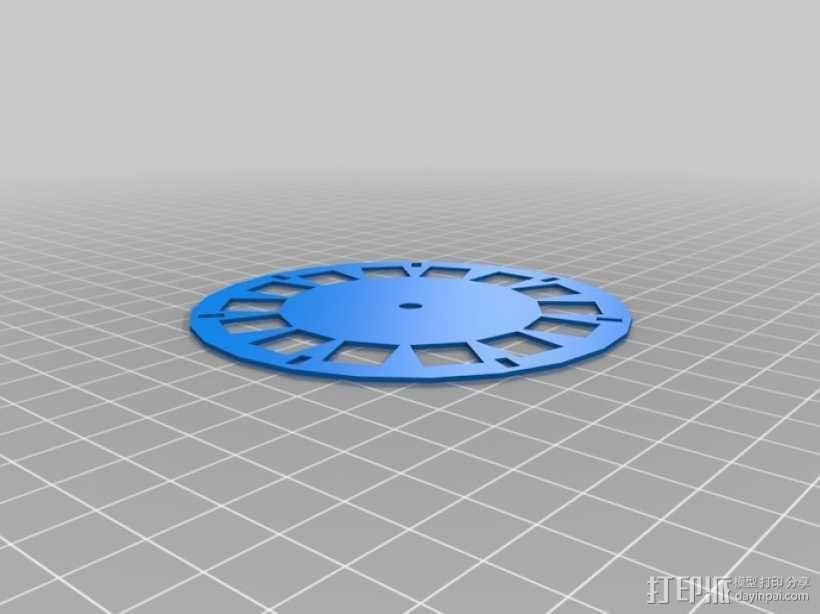 立体图片轮 3D模型  图1