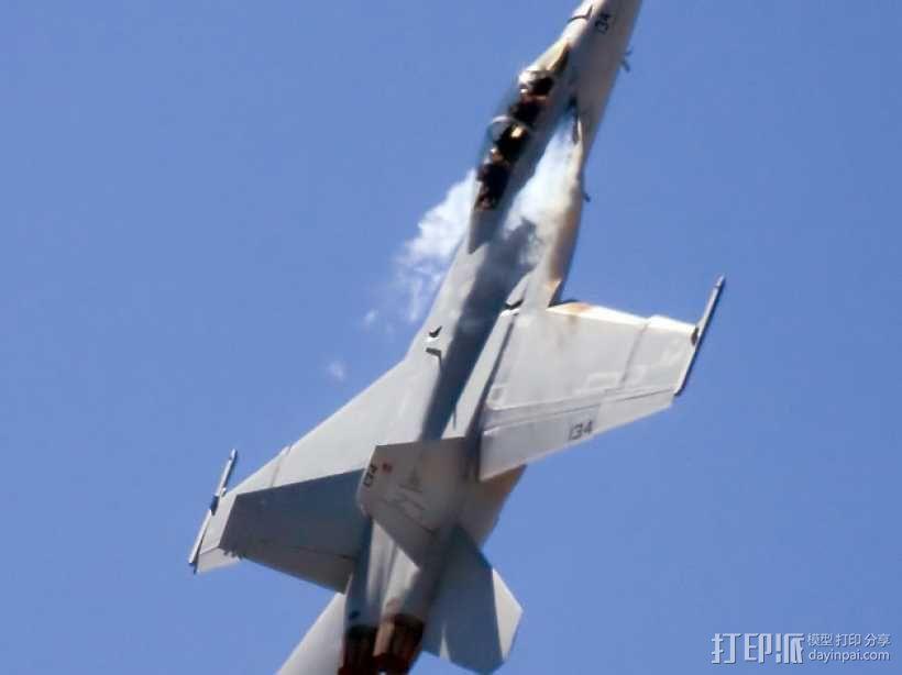 F18 飞机模型 3D模型  图1