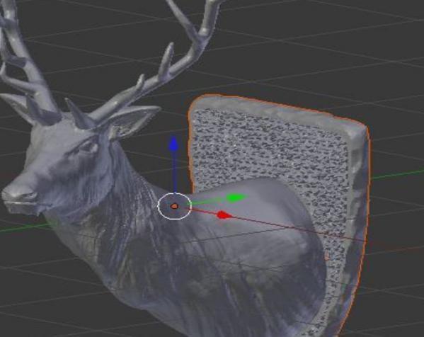牡鹿 模型 3D模型  图2
