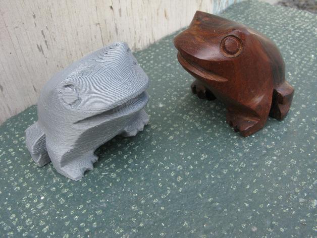 木蛙 大理石猫 3D模型  图3