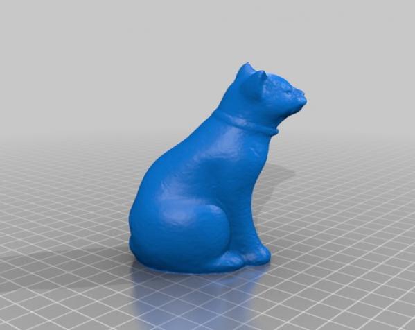 木蛙 大理石猫 3D模型  图4