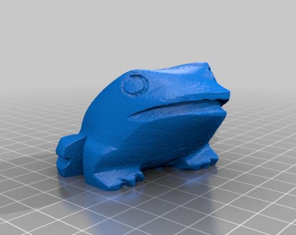 木蛙 大理石猫 3D模型  图5