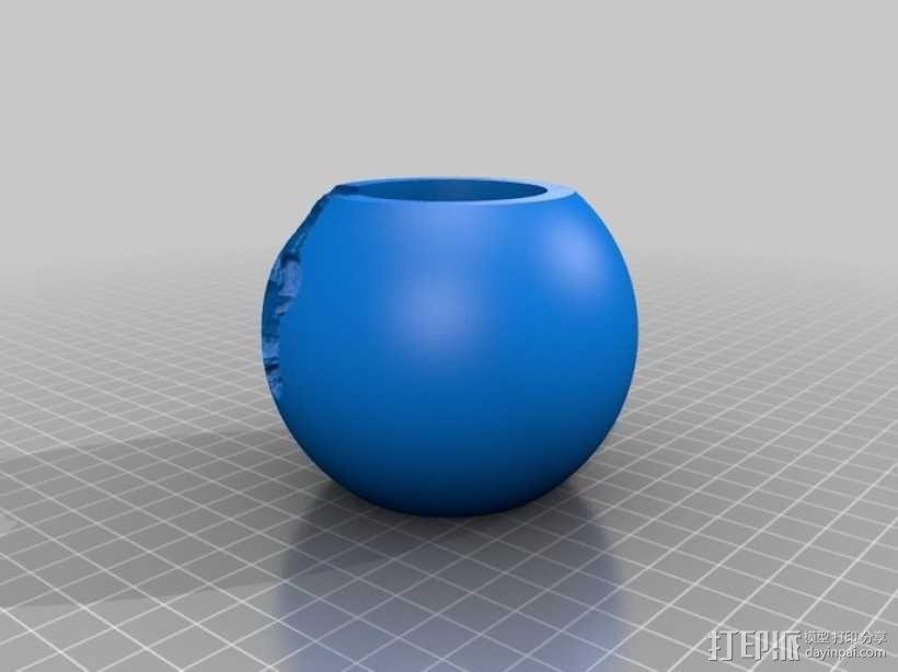 佛钵 3D模型  图2