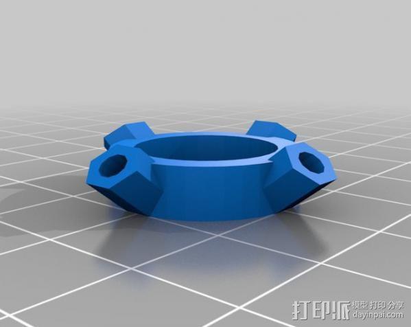 大脑齿轮 3D模型  图1
