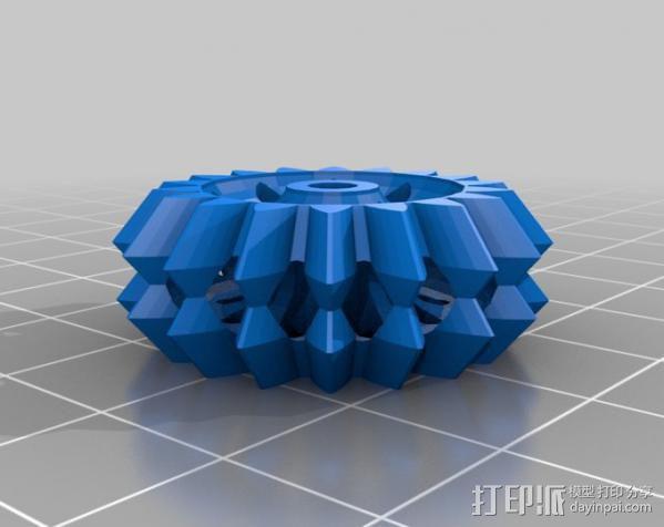 大脑齿轮 3D模型  图4