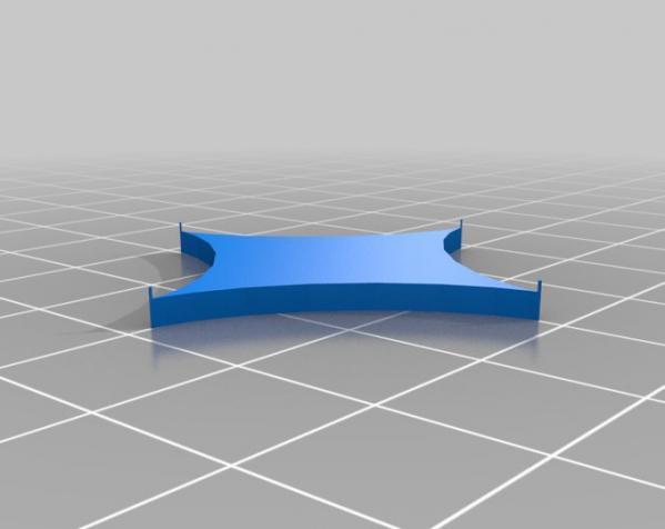 装饰性的磁盘 3D模型  图3