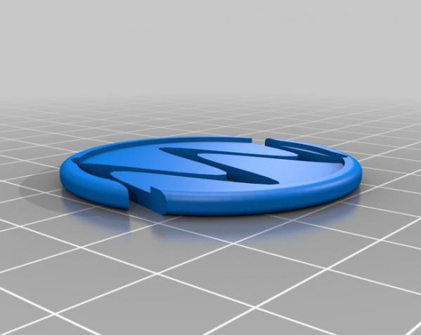 装饰性的磁盘 3D模型  图6
