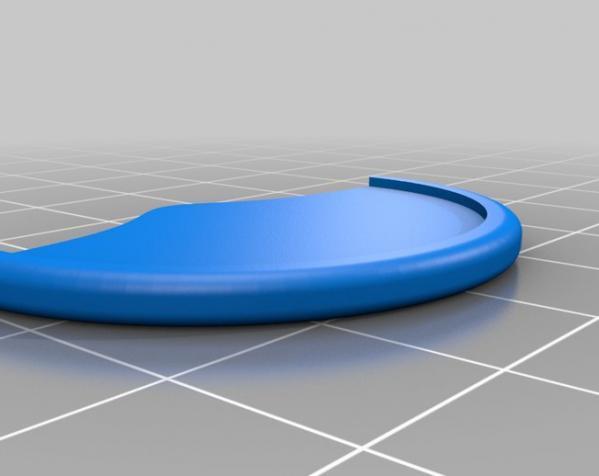 装饰性的磁盘 3D模型  图4