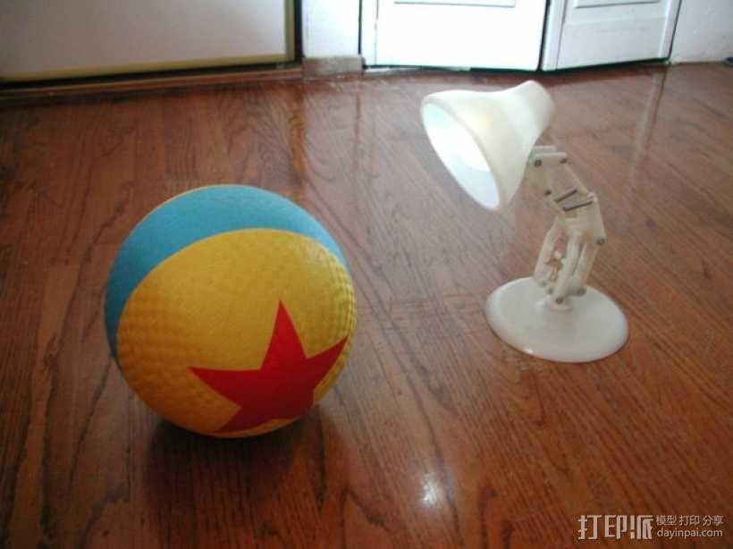 PIXAR皮克斯小台灯 3D模型  图2