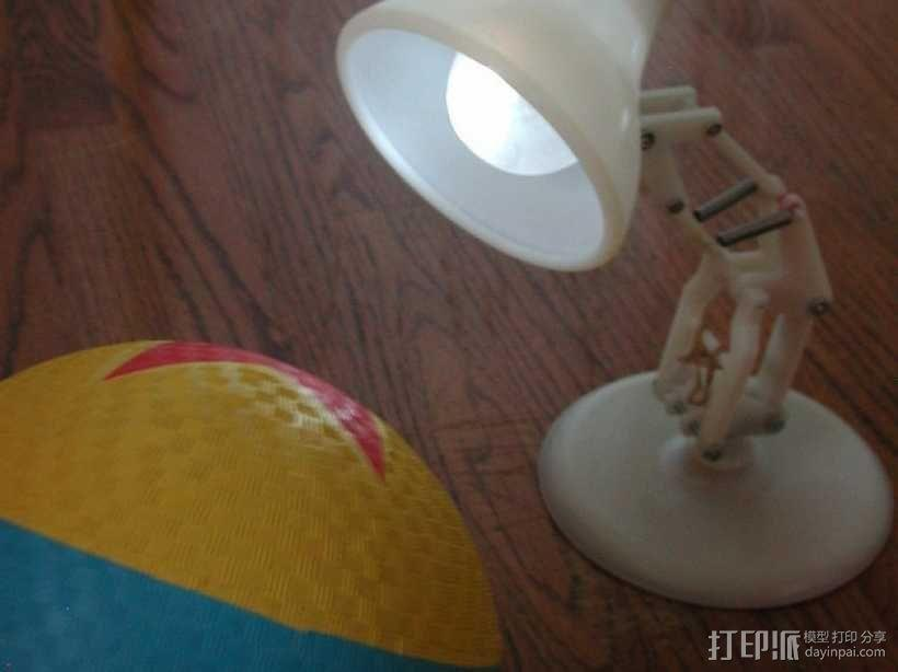 PIXAR皮克斯小台灯 3D模型  图1