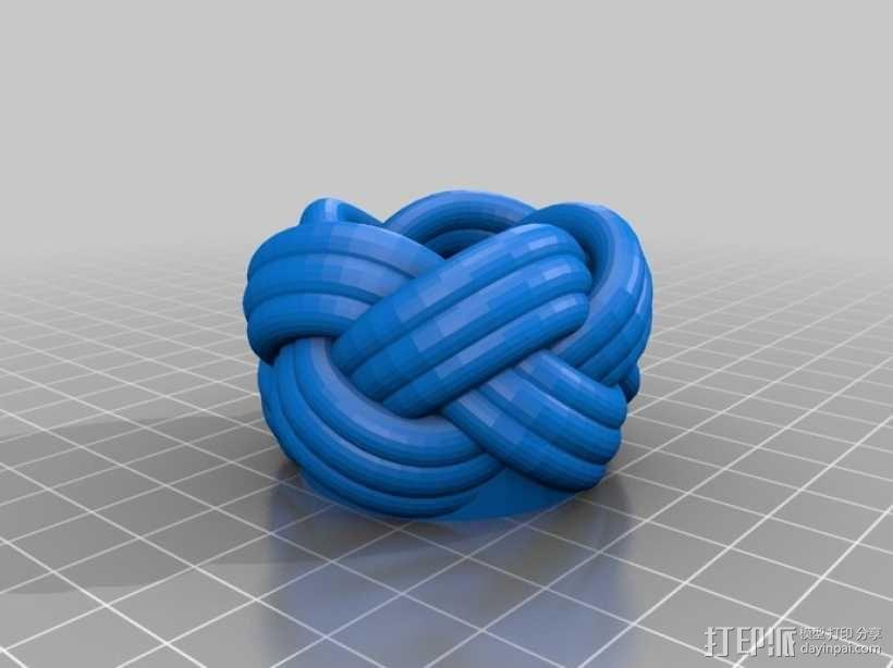 土耳其人的头巾 3D模型  图1