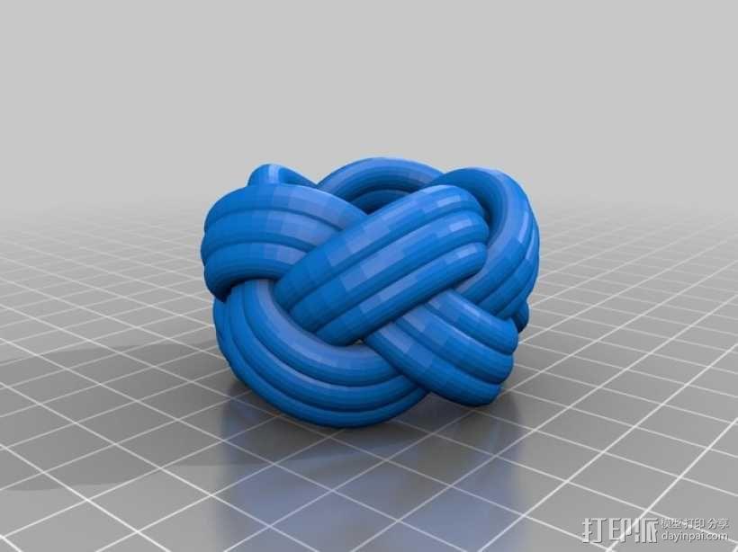 土耳其人的头巾 3D模型  图4