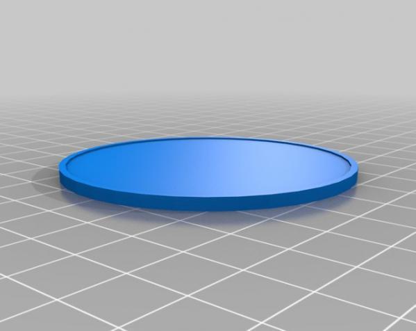 Chilly Gonzales头像 3D硬币 3D模型  图3