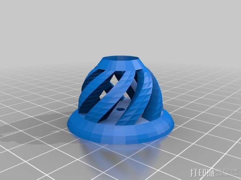 Wacom Bamboo笔架 3D模型  图1
