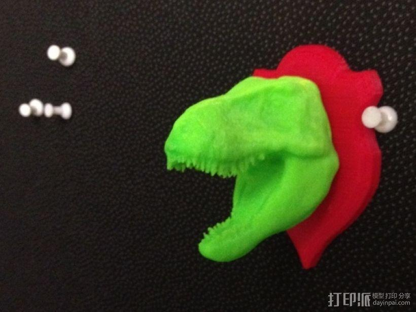 恐龙头 模型 3D模型  图1