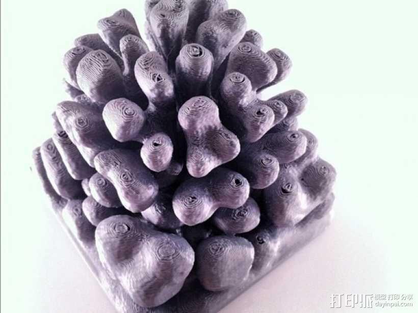 珊瑚/树枝状雕塑 3D模型  图4