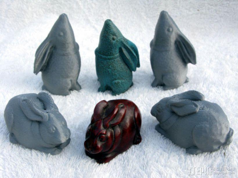 纪念品:兔子 3D模型  图1