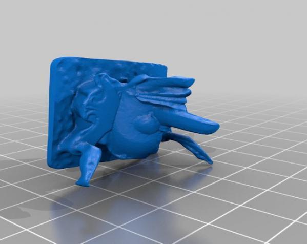 婆罗洲 面具 3D模型  图1