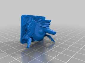 婆罗洲 面具 3D模型