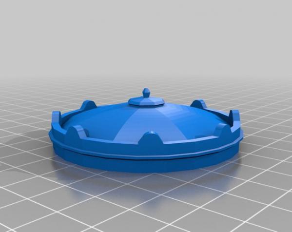 西班牙潘普洛纳报刊亭 3D模型  图3